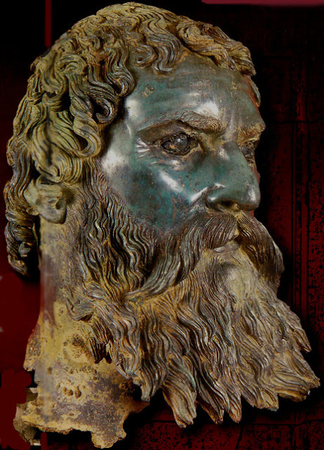 Bronze head Seuthes III 300-300 BC
